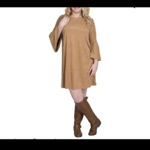 Simply Southern Charlotte Camel Dress